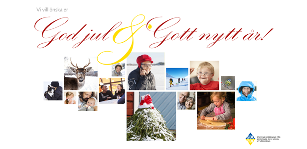 Klicka på bilden för att se vår julhälsning