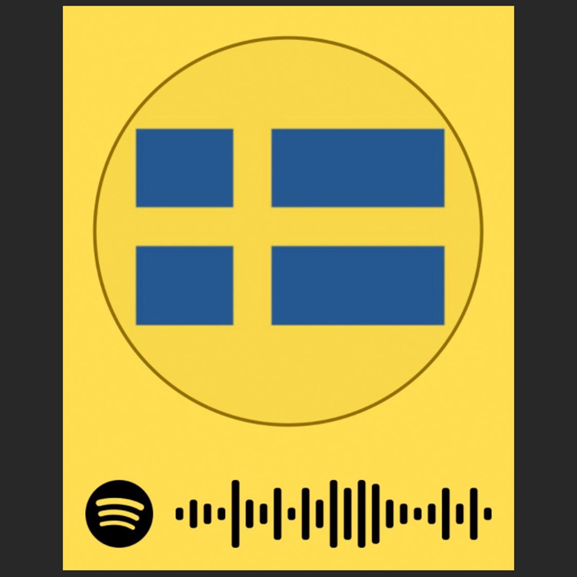 Logotype för Swedense på Spotify